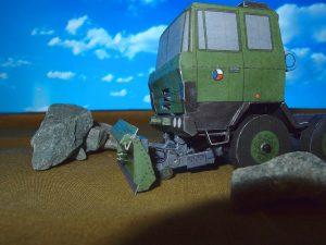Buldozerové zařízení BZ T-815